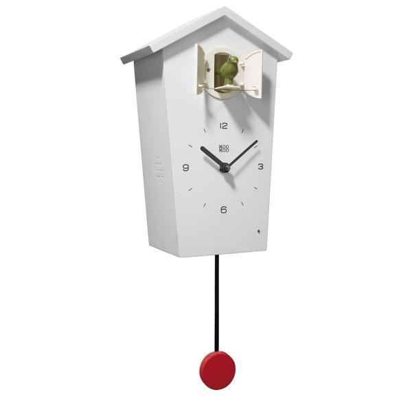 Koekoeksklok Birdhouse KooKoo WIT
