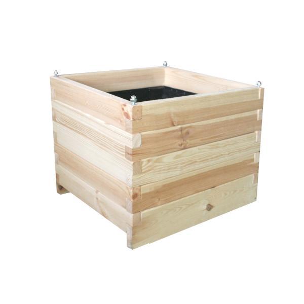 Bloembak BLEUETbehandeld grenenhout61 liter