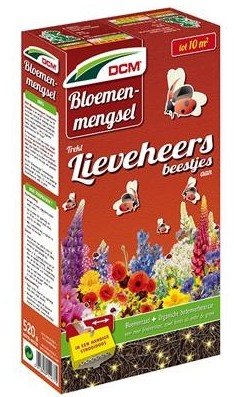 Bloemenmengsel voor lieveheersbeestjes