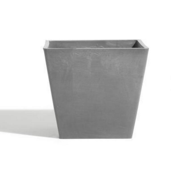 ECOPOTS Rotterdam grijs 40 cm