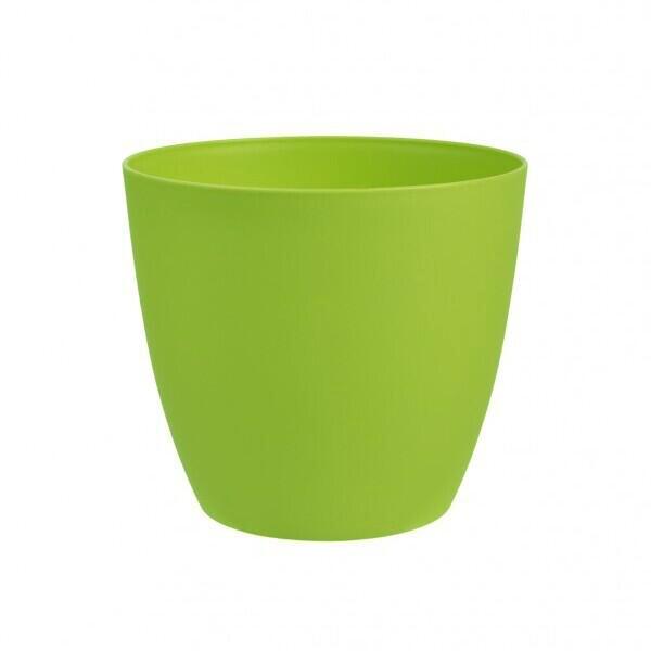 Bloempot Ella 18 cm mat groen