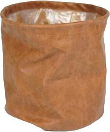 Bloempot Juna cognac 25 x 25 cm