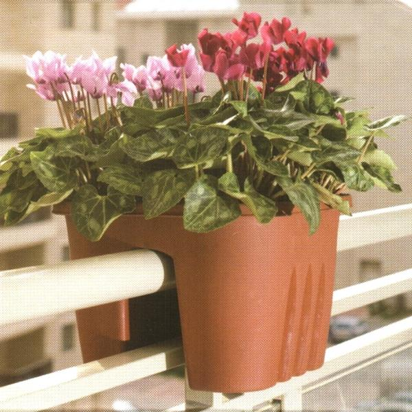 Reling bloempot terracotta