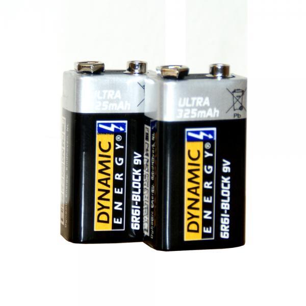 Blokbatterij 9V ultra