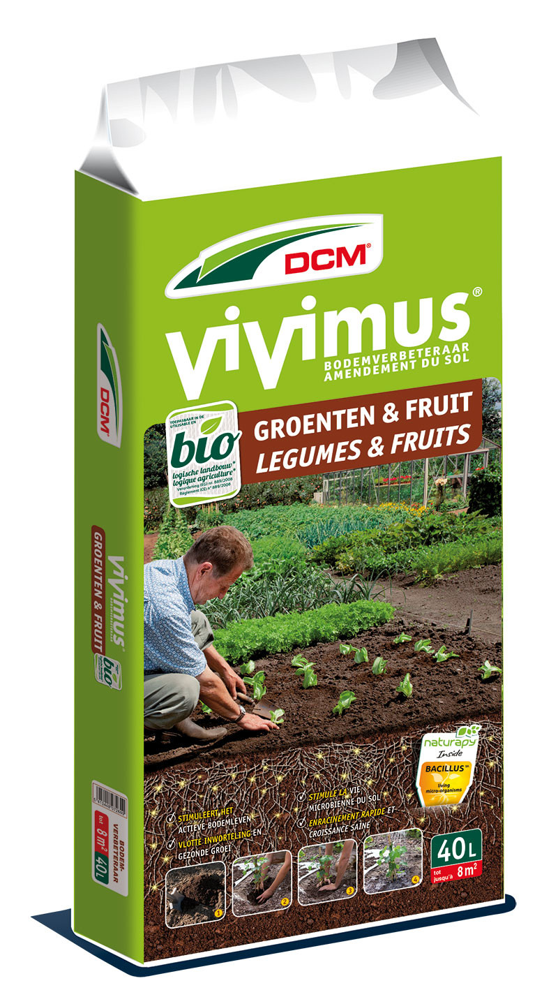 DCM bodemverbeteraar GroentenFruit 40 L