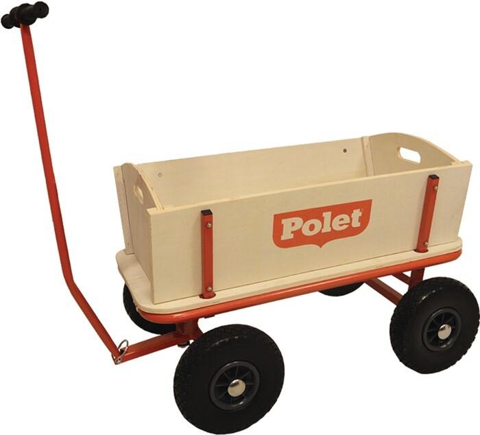 Bolderwagen Polet hout