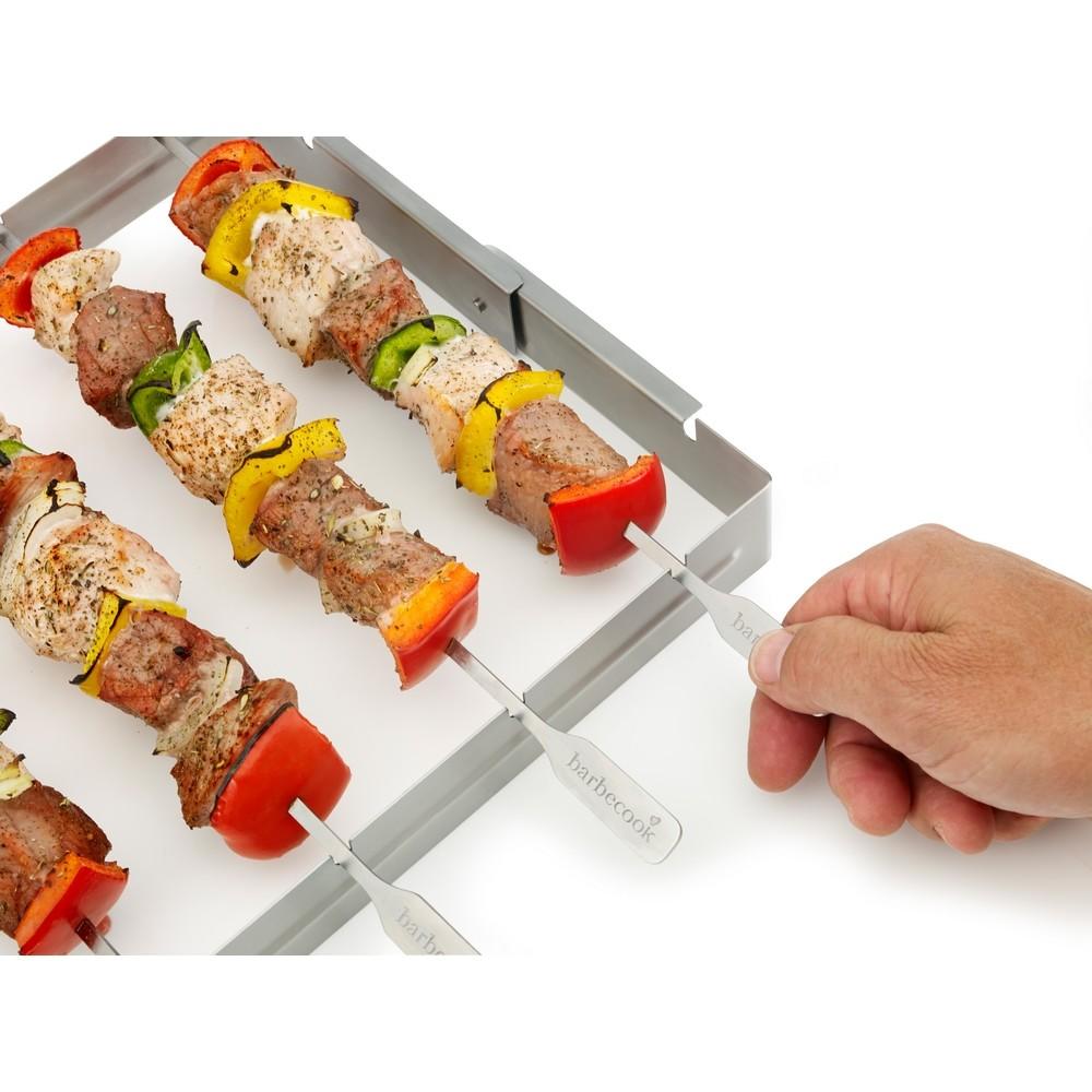Brochettehouder voor BBQ Barbecook