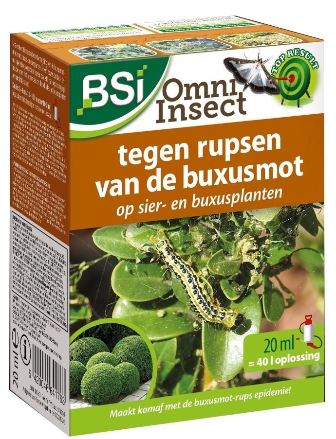 Buxusmotrups bestrijdingomni insect 20 ml