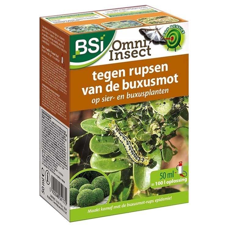 Buxusmotrups bestrijdingomni insect 50 ml