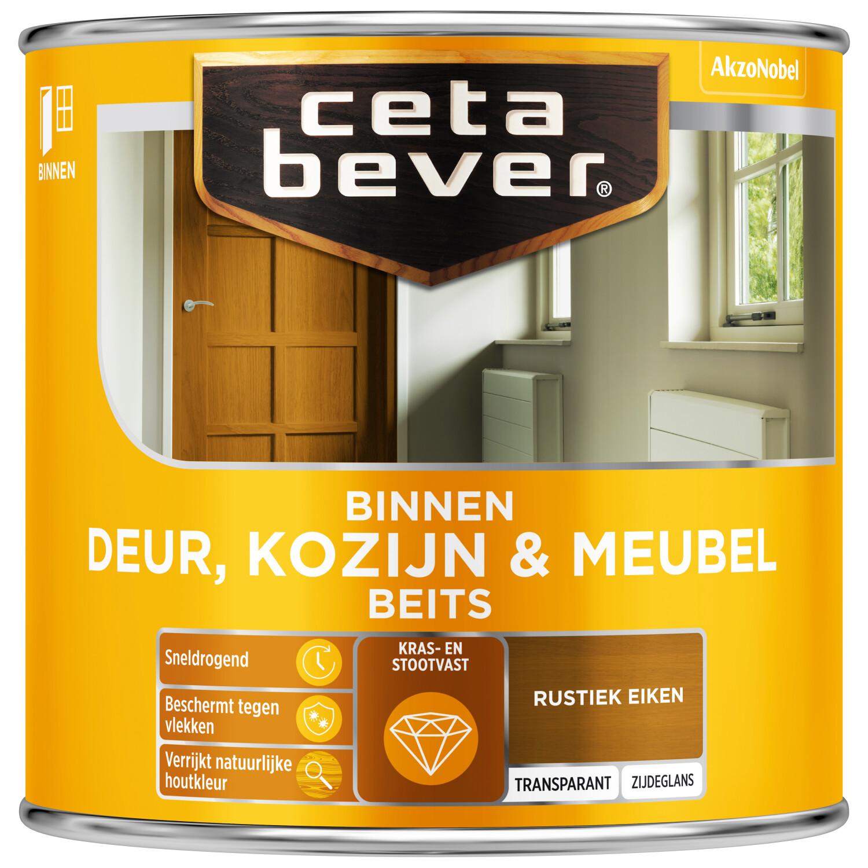 Cetabever Binnenbeits Deur Kozijn Meubel transparant zijdeglans rustiek eiken 250 ml