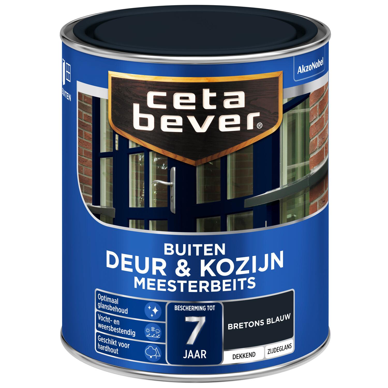 Cetabever Meesterbeits Deur Kozijn dekkend bretonsblauw 750 ml