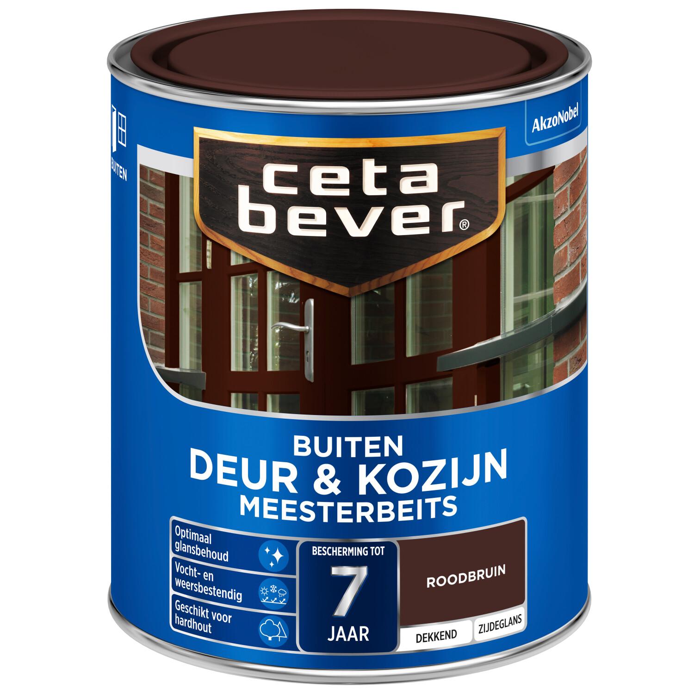 Cetabever Meesterbeits Deur Kozijn dekkend roodbruin 750 ml