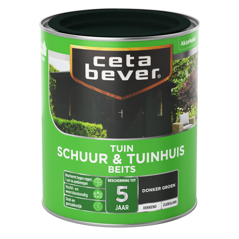 Cetabever Tuinbeits Schuur Tuinhuis dekkend donkergroen 750 ml