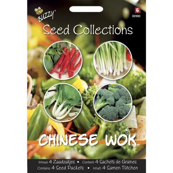 Chinese Wok mix4 zaadzakjes