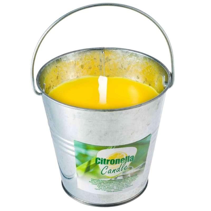 Citronellakaars in emmer