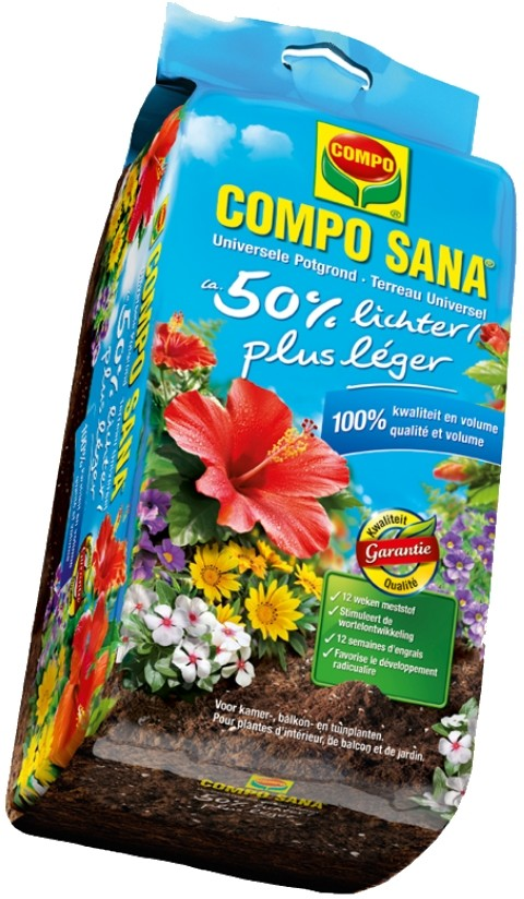 Compo Sanauniversele potgrond 50 lichter 25 liter