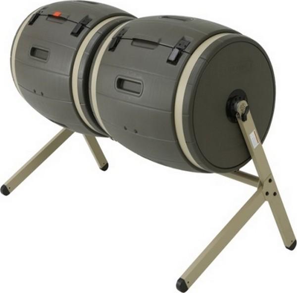Compostmolen Composter DELUXE 2 x 189 liter