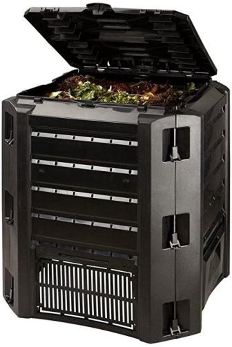 Compostvat zwart 380 liter