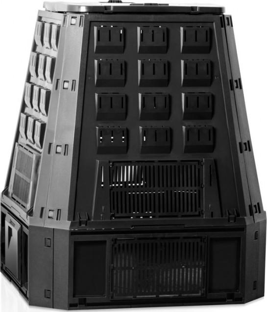 Compostvat zwart 630 liter