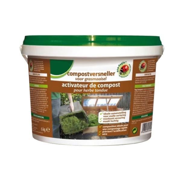 Compostversneller voor grasmaaisel6 kg