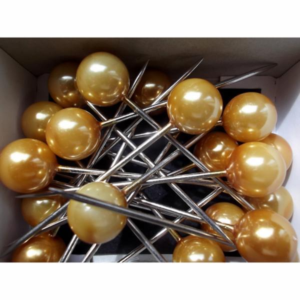 Corsagepins goud