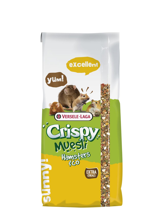 Crispy Muesli voor hamsters co 20 kg