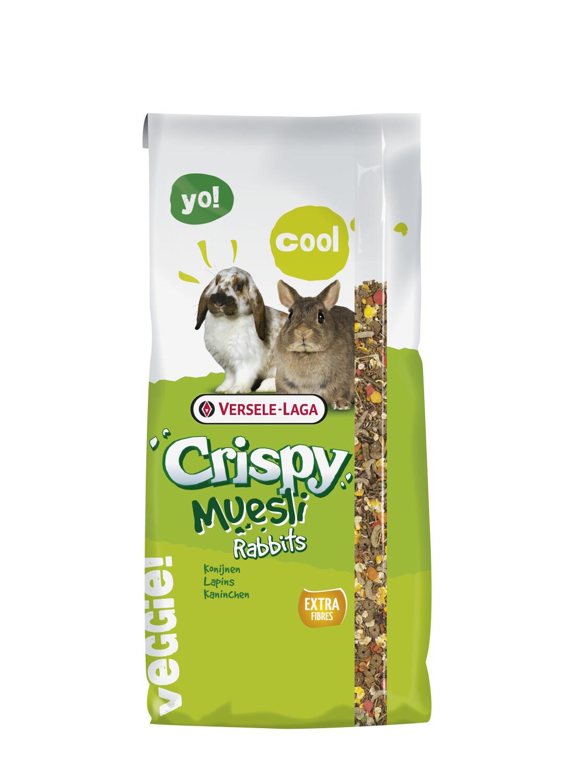 Crispy Muesli voor konijnen 20 kg