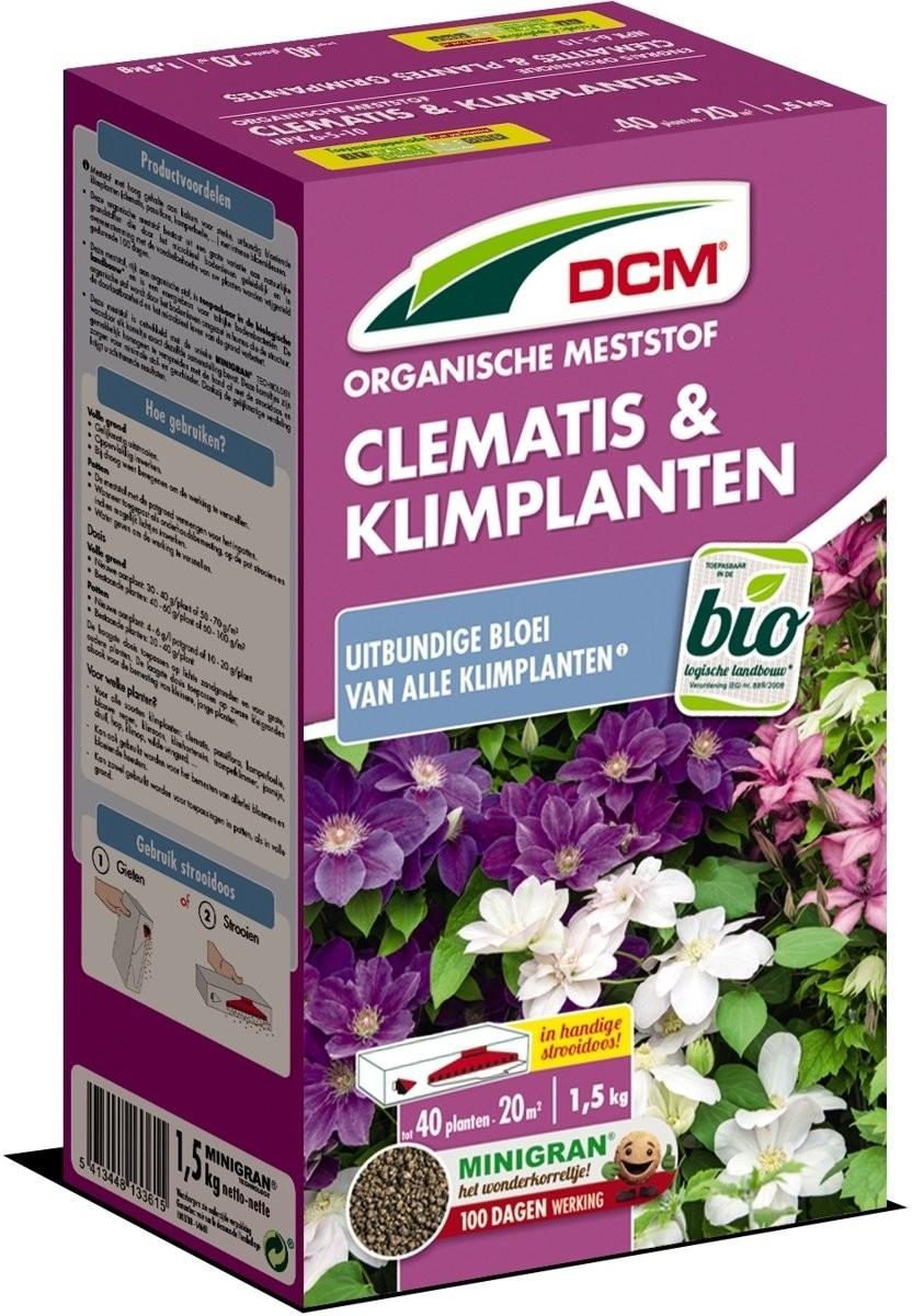 DCM meststof Clematis en klimplanten