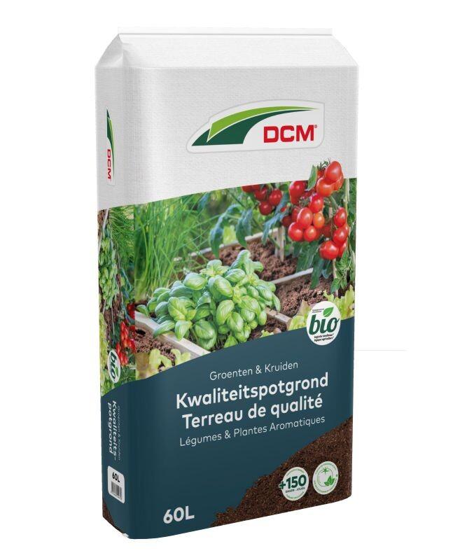 DCM Potgrond Groenten Kruiden 60 L