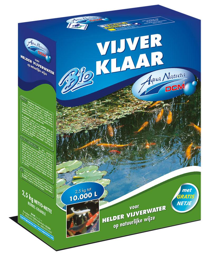 DCM Vijverklaar2500 g voor helder vijverwater