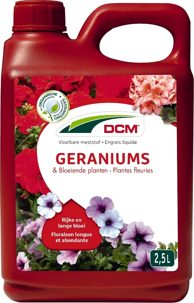 DCM Vloeibare Meststof Geraniums SurfiniaBloeiende Planten25 liter