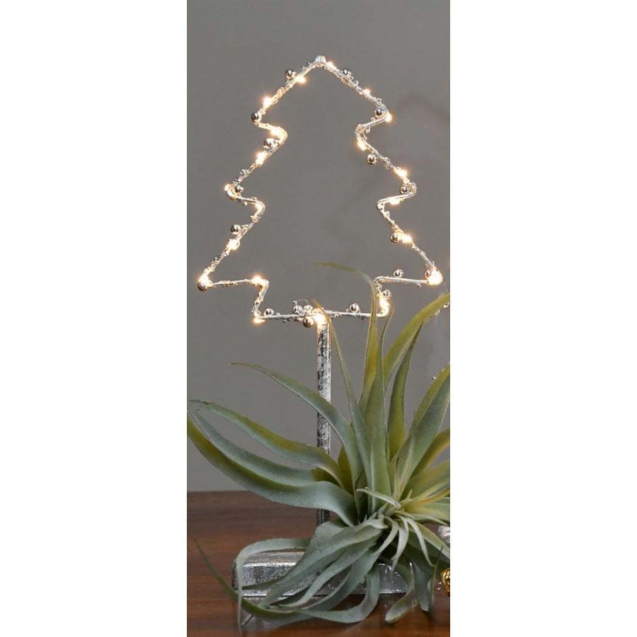 Decoratie kerstboom met led40 cm