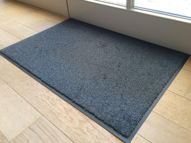 Deurmat EcoClean 60 x 120 cm grijs