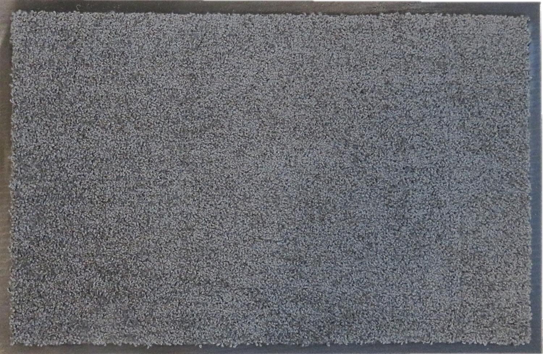 Deurmat EcoClean 60 x 90 cm grijs