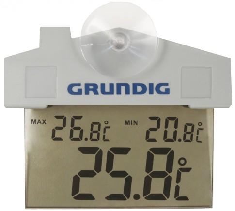 Digitale buitenthermometer met zuignap