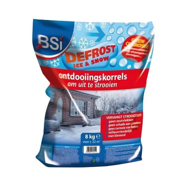 Ontdooikorrels tegen sneeuw en ijs8 kg voor 32 m2