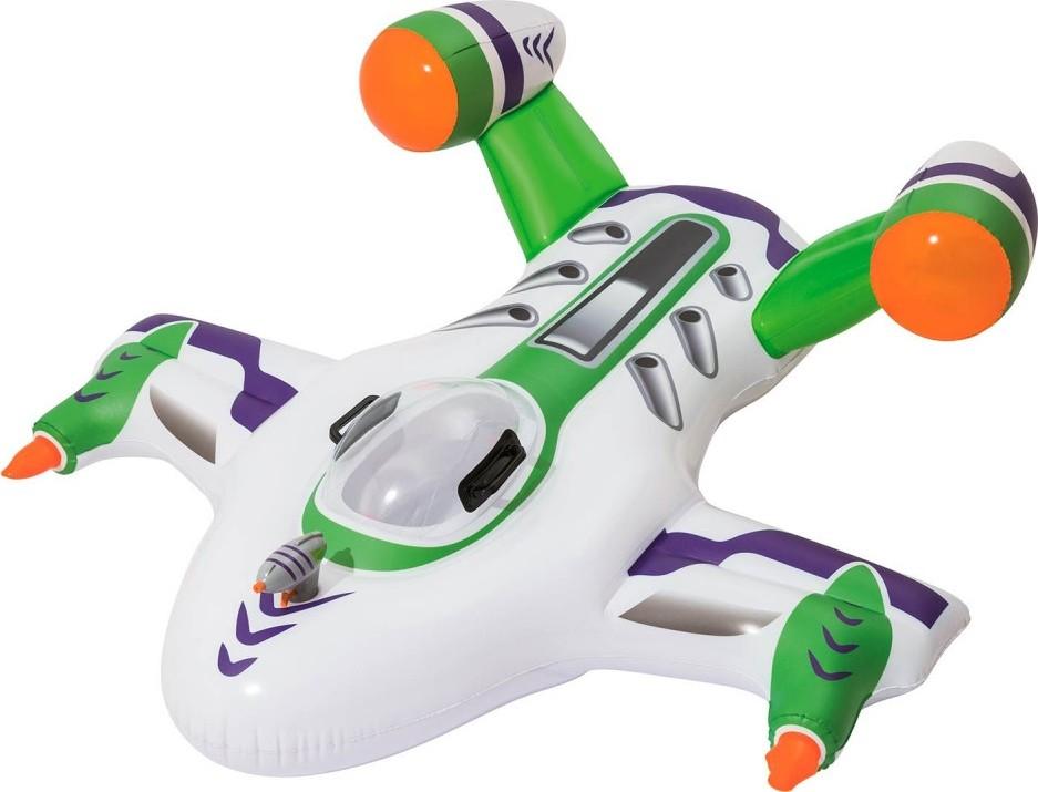 Drijvend watervliegtuig met waterpistool