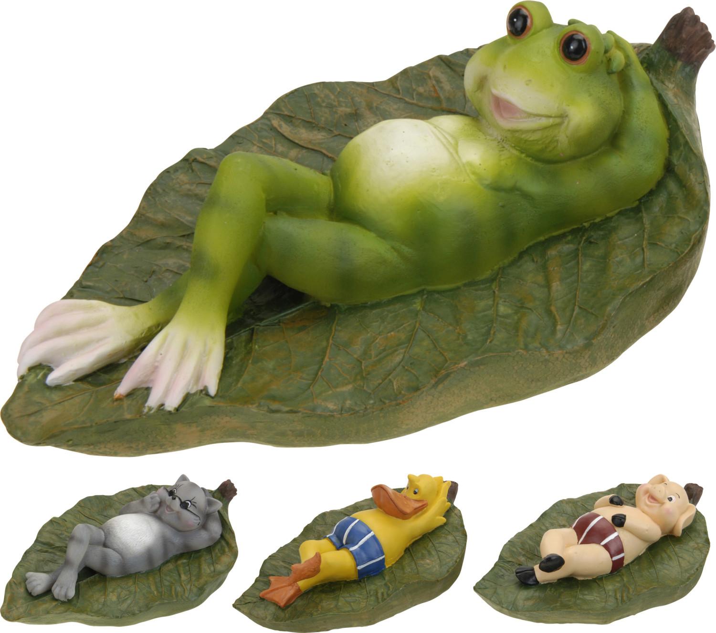 Drijvende dieren op blad