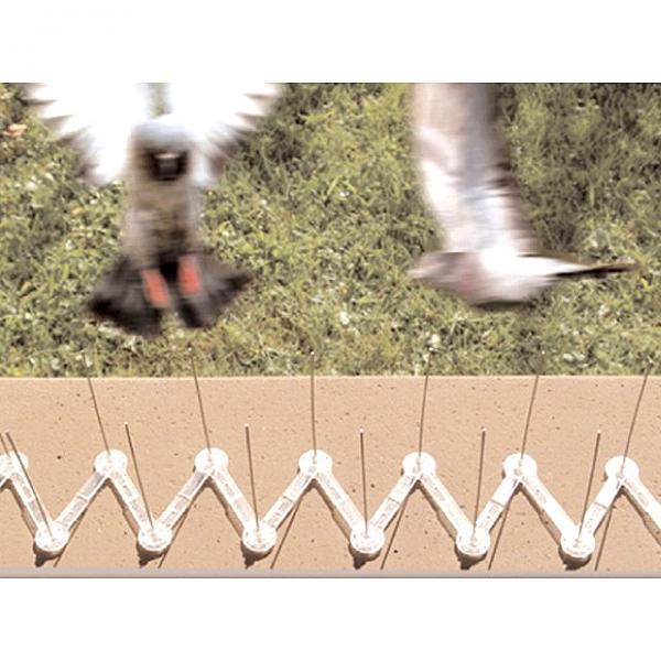 Duivenweringset 1 meterclips en pinnen