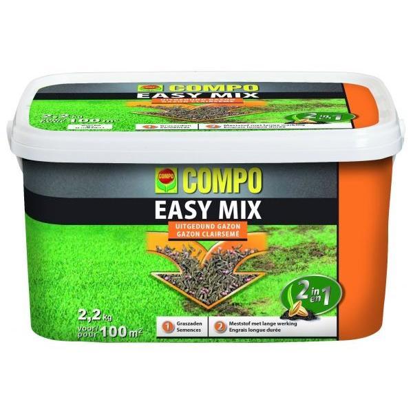 Gras zaaien en bemesten met Easy mix 22 kg