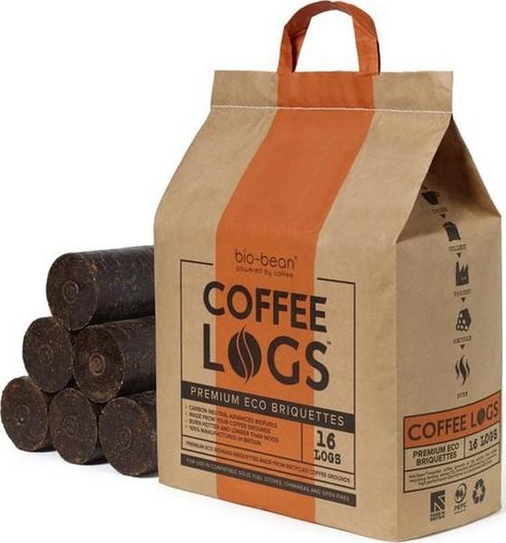 Eco koffiebrikettenCoffee LOGS