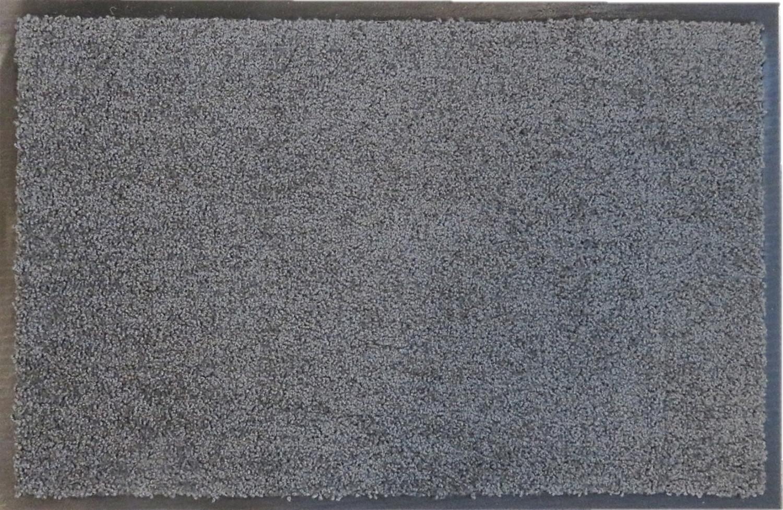 Deurmat EcoClean 40 x 60 cm grijs