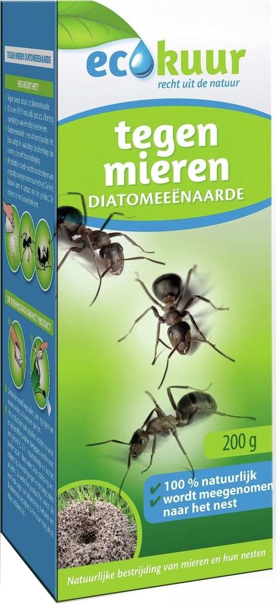 Diatomeenaarde tegen mieren 200 gecokuur