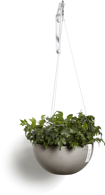 ECOPOTS Brussels hanging basket taupe 27 cm