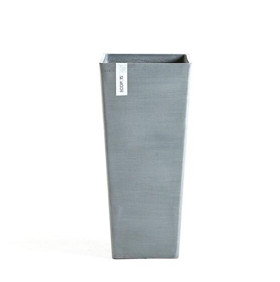ECOPOTS Rotterdam High grijs 70 cm