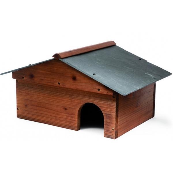 Egelkastegelhuis met leien dak