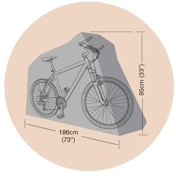 Beschermhoes fiets