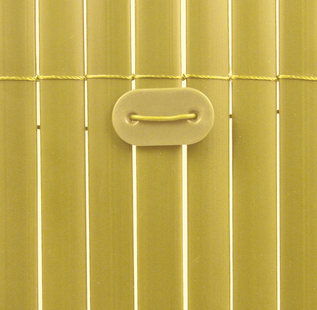 Fixclips voor geel tuinscherm