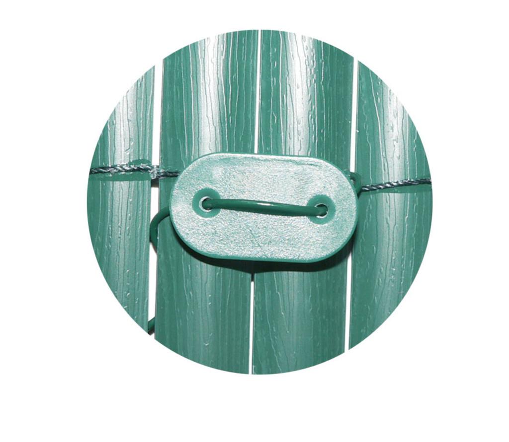 Fixclips voor groen tuinscherm