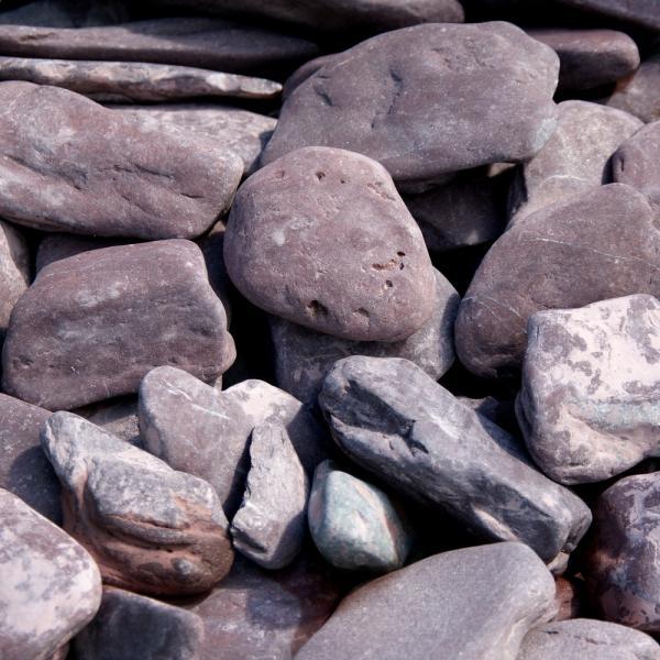 Flat pebbles paars 3060 in big bag ca 07 m